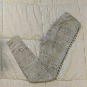ALO Yoga Pants White Water color design
